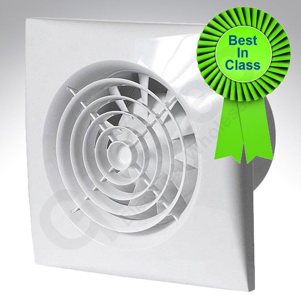 Rdl bathroom extractor fan - Humidistat Bathroom Extractor Fans Silent Tornado St100ht Bathroom Fan With Humidistat Timer