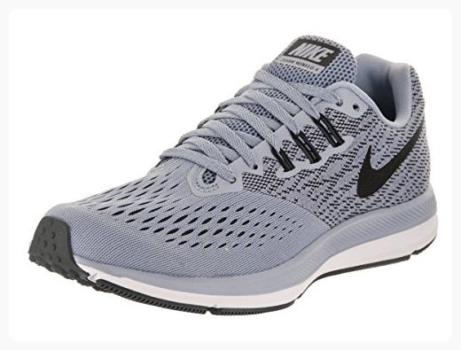 acbce5f55c Nike Women's Zoom Winflo 4 Glacier/Grey/Black/Anthracite Running Shoe 7  Women US (*Partner Link)
