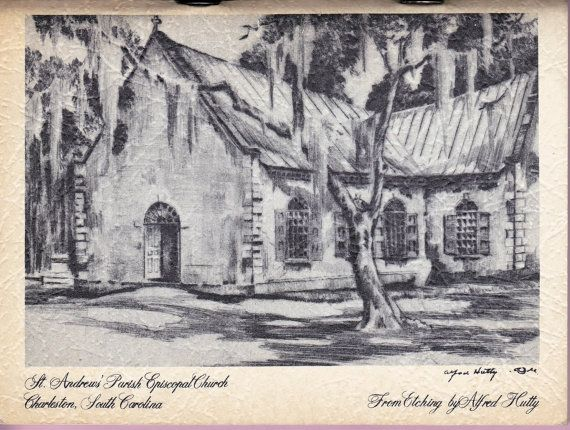 St Andrew S Parish Church Tea Room Cook Book Charleston