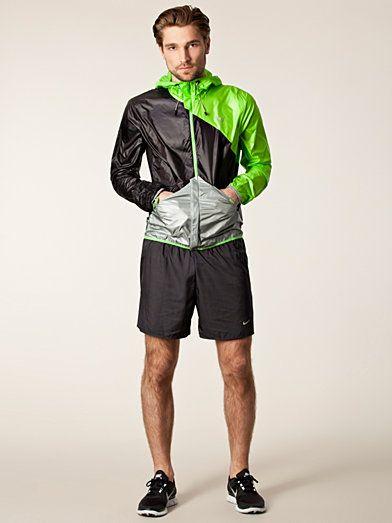 6ffdf3f68 Windbreaker Jacket - Puma - Black Green - Jackets And Coats - Sports  Fashion - Men - Nelly.com
