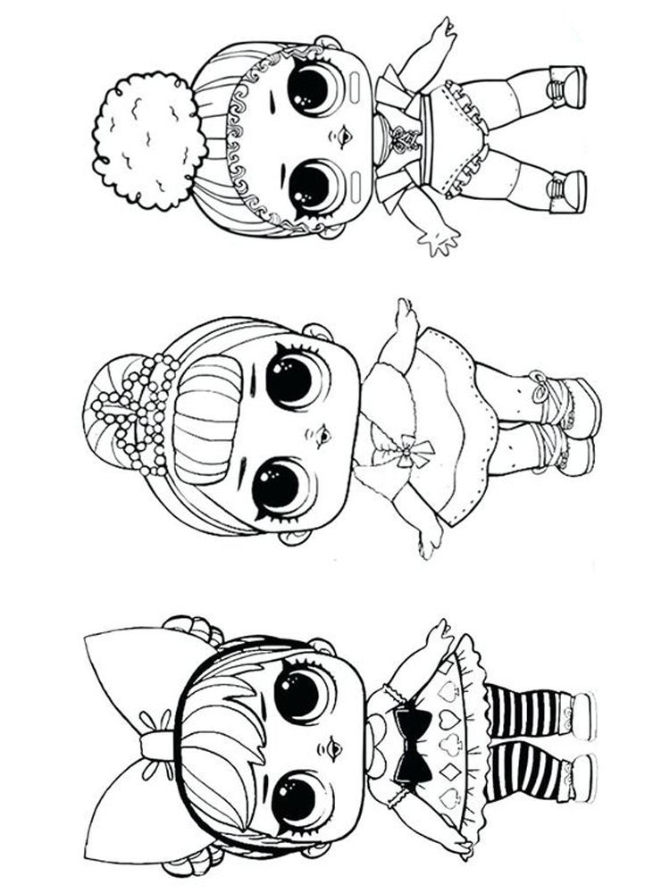 Lol Coloring Pages Sugar And Spice Ball Shaped Toys With Dolls Inside Are Now Becoming Hits A Toy Name Baby Coloring Pages Cute Coloring Pages Coloring Pages