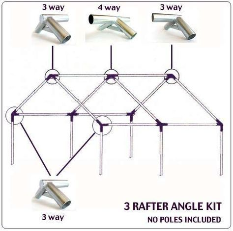 Pvc Canopy Tent Frame Plan Tent Frame Angle Joint Kits Wall