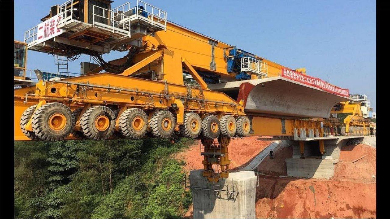 Amazing Bridge Construction Process Extreme Machine Modern