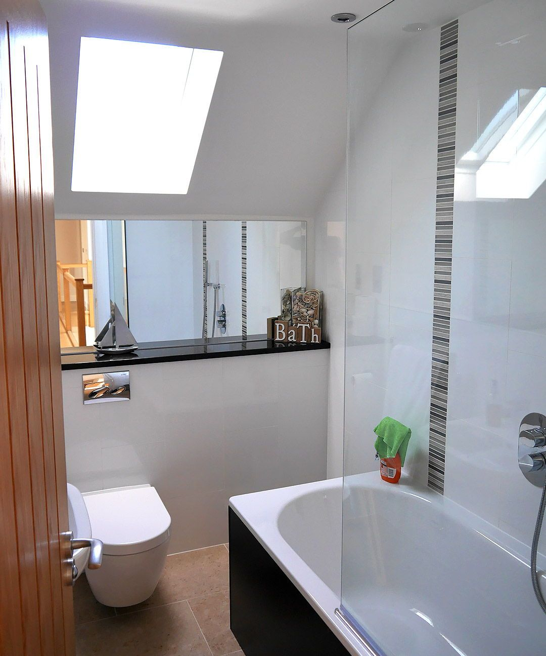 Bathroom Ideas. Contemporary house design with a ...