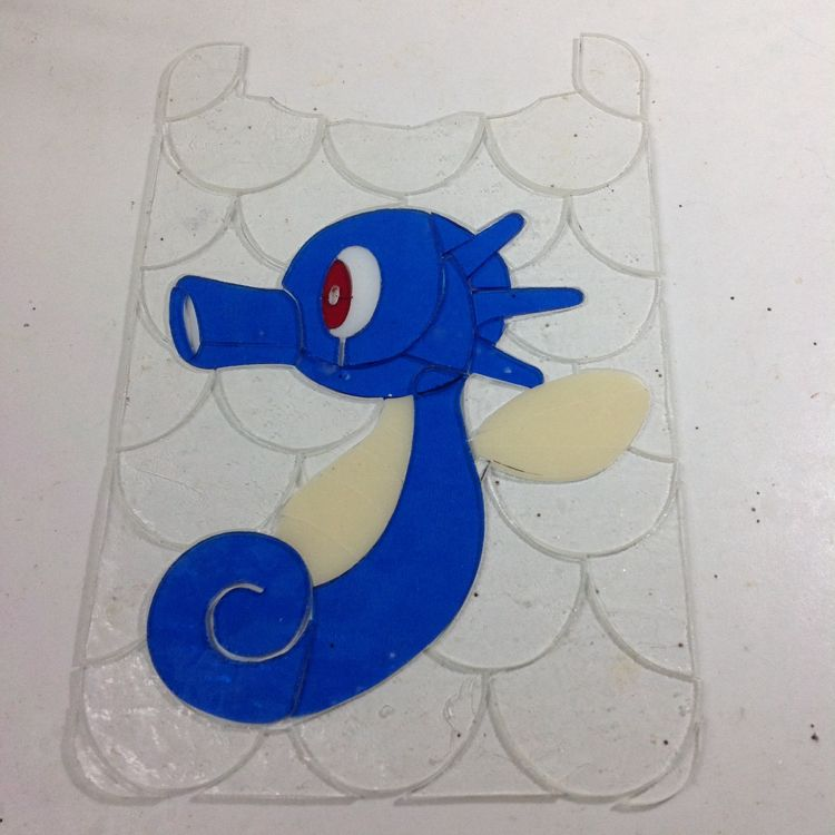 Stained Glass Geek is creating Pokemon inspired Stained glass artwork | Patreon