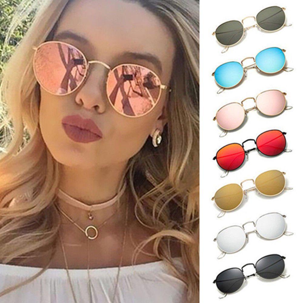 0168898583c7b grandes gafas de sol redondas Hombres gafas de sol de estilo vintage y retro  para mujer caliente - mostrar título original