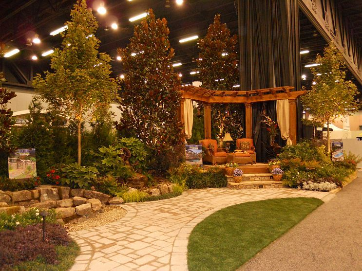 This Is An Outdoor Room That Miller Landscape Did In The