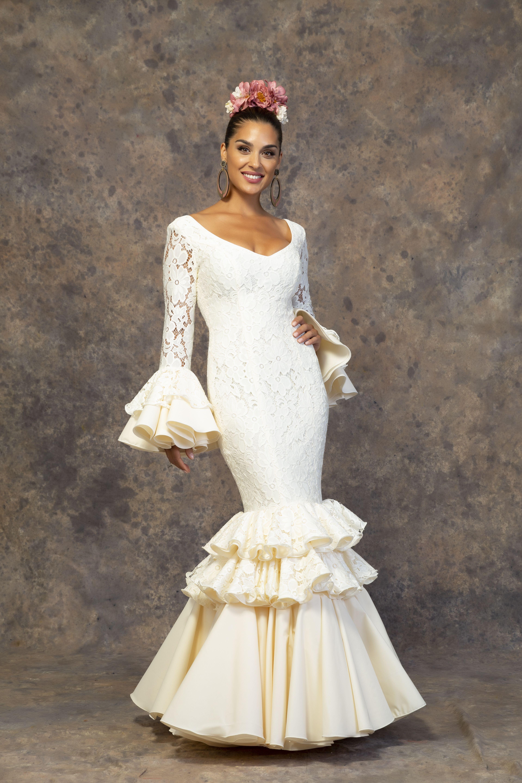 Modelo Copla Trajes De Flamenco Vestidos De Flamenca Vestido De Gitana