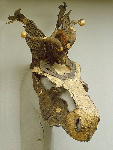 Headdress from Pazyryk Royal tomb.
