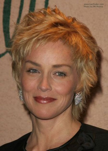 23 Neue Kurze Sharon Stone Frisuren Promi Kurzhaarschnitte