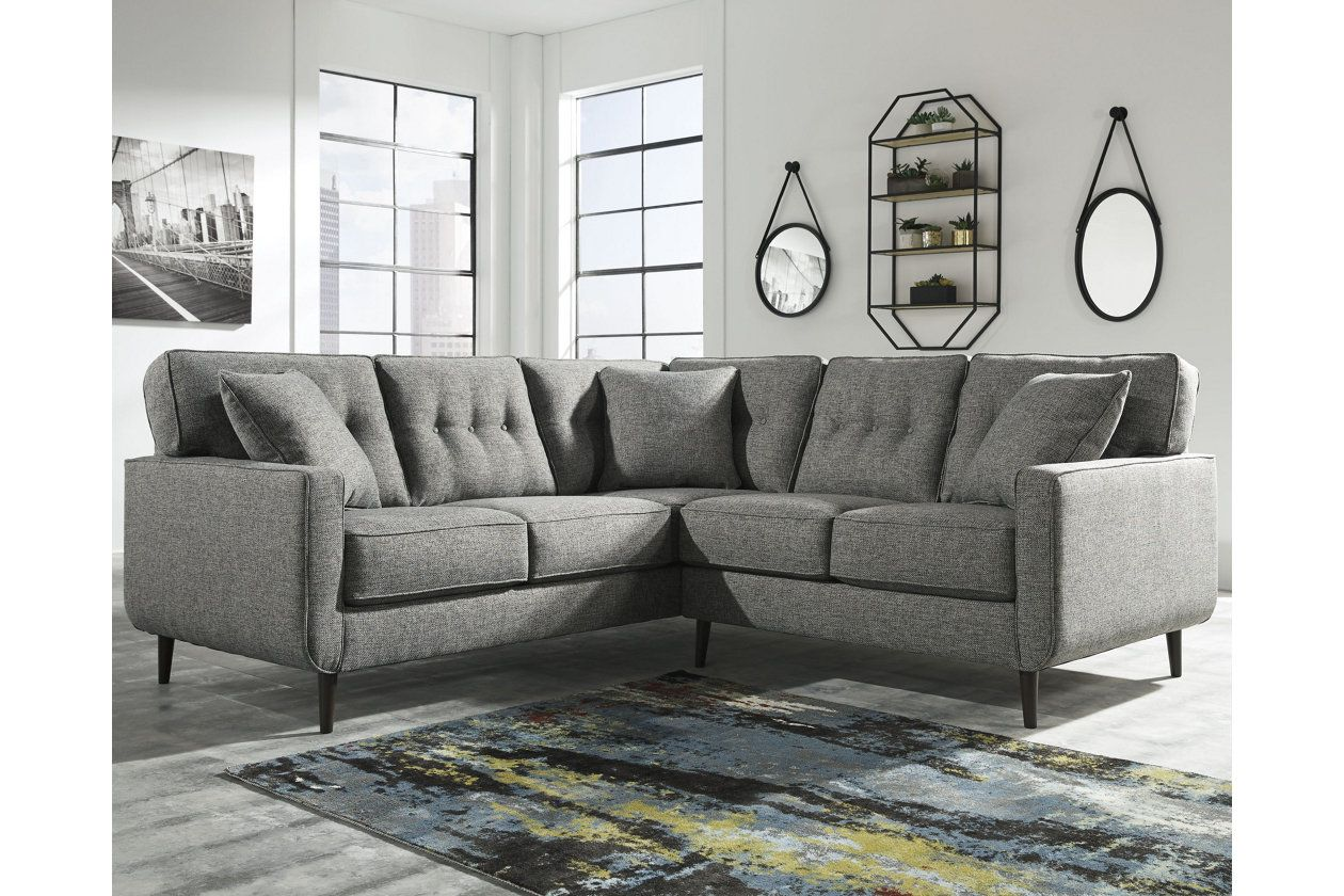 Zardoni 2 Piece Sectional Couches Ashley Furniture