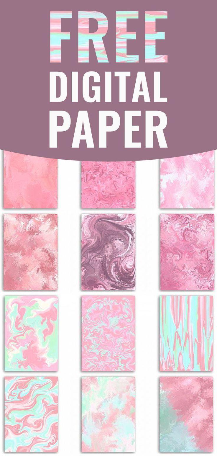 Fashion Papers Glam Patterns  Stylish Planner Sticker Digital Paper Pattern scrapbook paper seamless patterns Graphics Hand Drawn Background