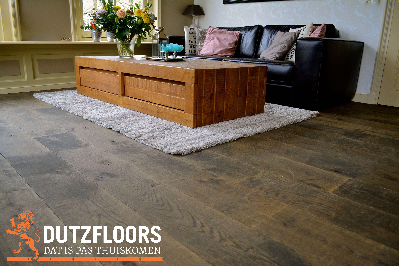 Verouderde houten vloer europees eiken inspiratie houten