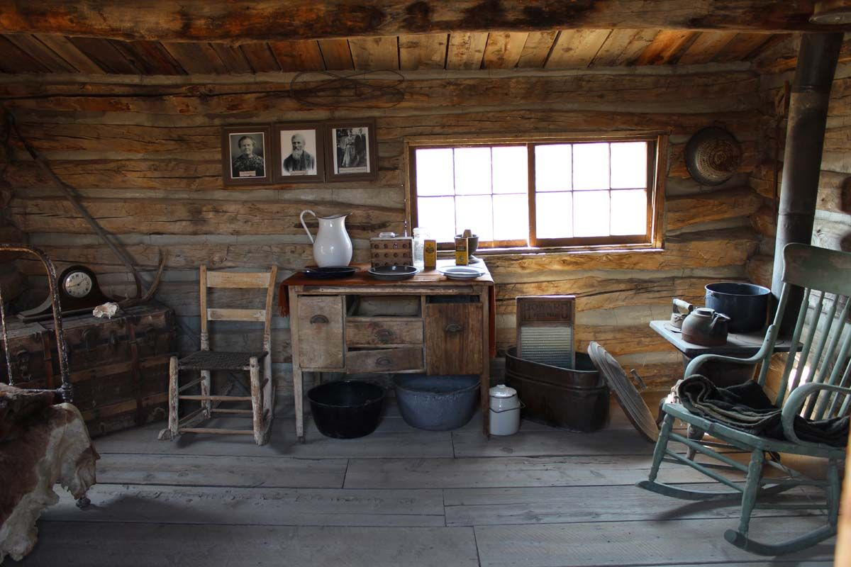 Cody Wyoming Cabin Interiors And Log Cabins