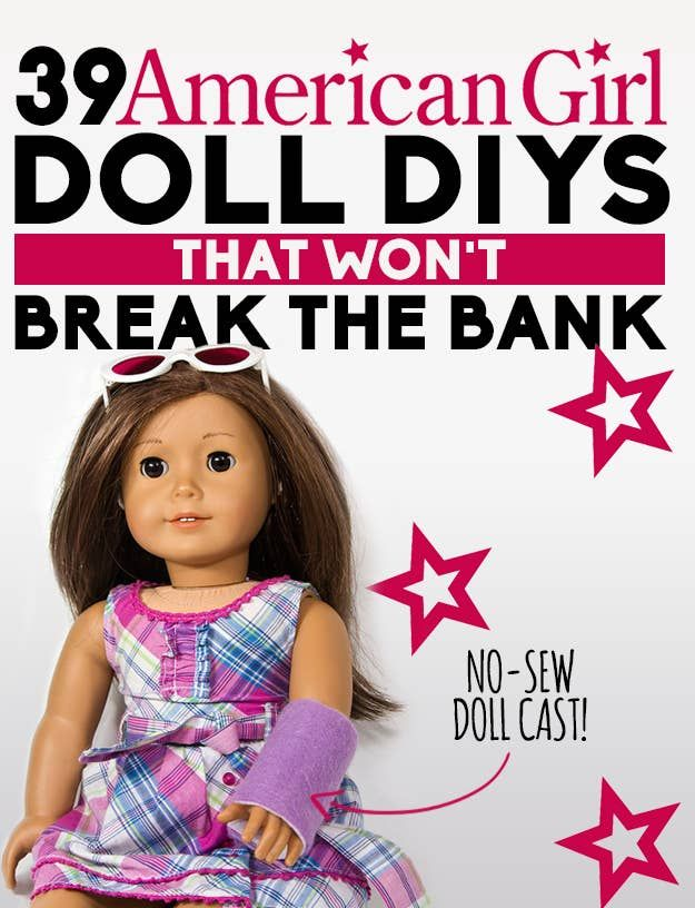 39 American Girl Doll DIYs That Won't Break The Bank