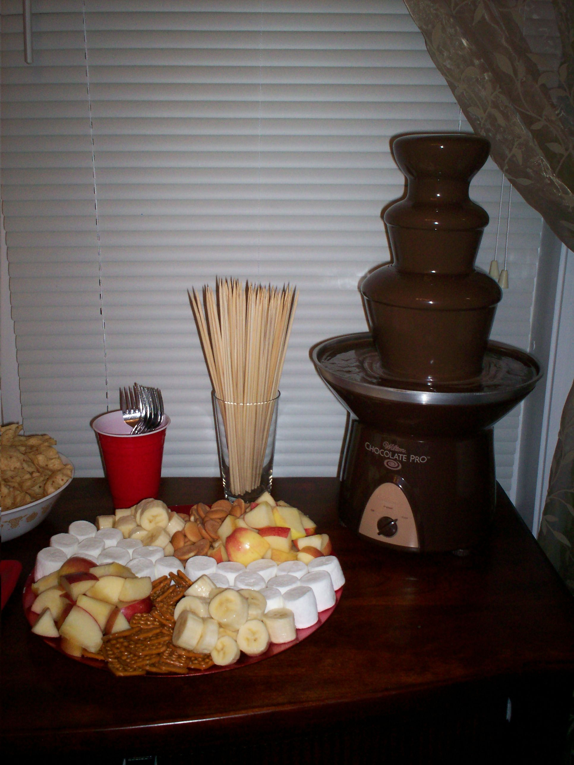 what kind of chocolate for chocolate fountain