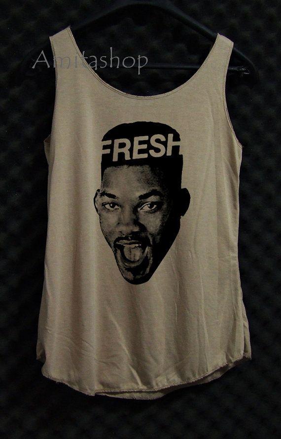 b8feef840a8aeb FRESH Fresh Prince of Bel Air Will Smith Tank Shirt by Amitashop ...