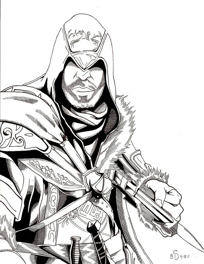 assassin s creed revelations by whitekidz d3gnf9j coloriage