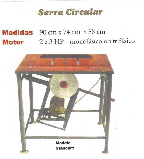 Serra Circular Bancada Serra Circular Serra Circular De