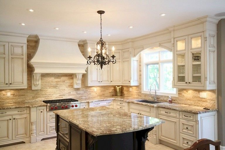 31+ Amazing French Country Kitchen Design Ideas #frenchcountry