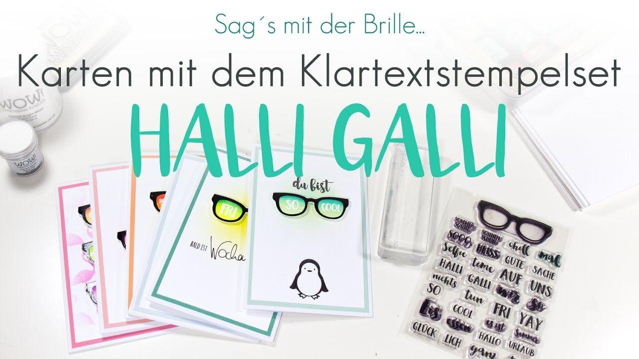 Anleitung Halli Galli