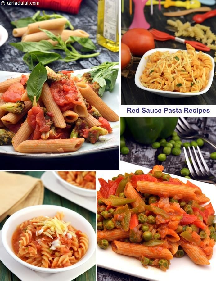 Red Sauce Pasta Recipes Collection Of Veg