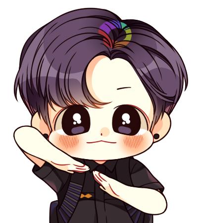 Pin Oleh Jeon Jungkook Bts Di 韓国キャラ Kartun Ilustrasi Karakter Chibi