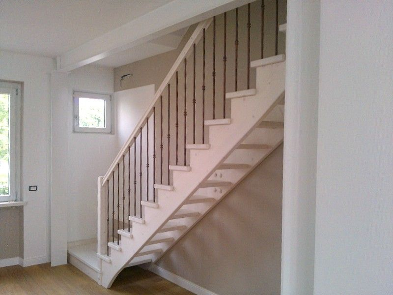 Scale interne bianche legno cerca con google my house for Scale interne legno