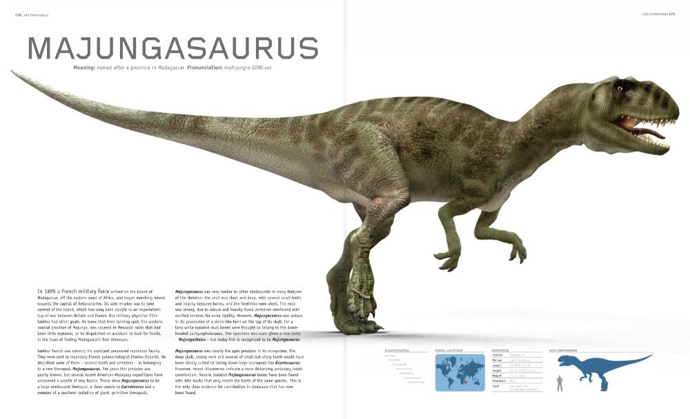 Madagascar Majungasaurus Dinosaur Pictures Prehistoric Animals Dinosaur Photo