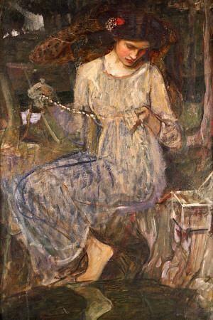 John William Waterhouse The Necklace William Waterhouse Comment Peindre Art De La Peinture