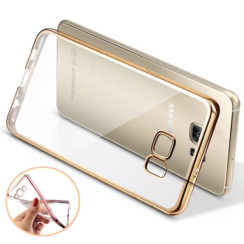 Phone Case For Samsung Galaxy S7 Ultra Thin Clear Plating
