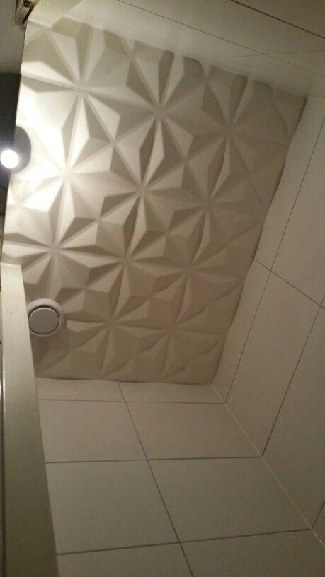 Uitzonderlijk Verlaagd plafond wc | 3D wandpanelen HM69