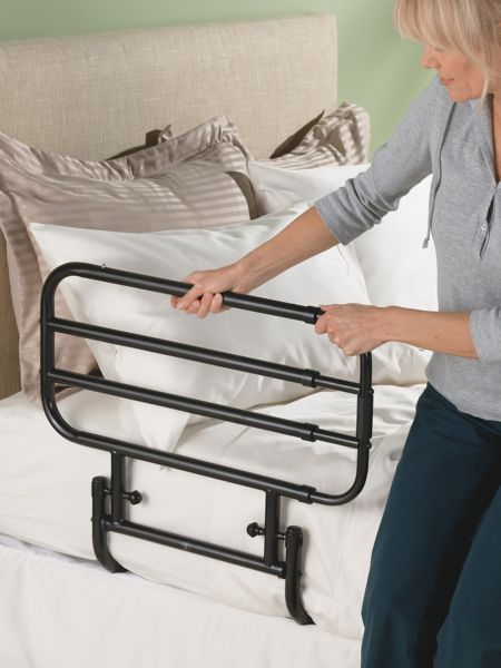 Deluxe Adjustable Bed Rail Adjustable Beds Bed Rails Home Safety