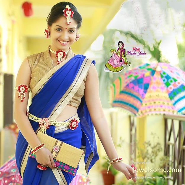Nature Friendly Fresh Flower Jewellery For Wedding Function