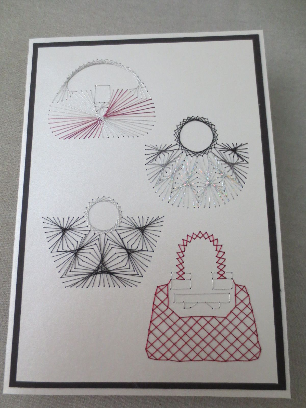 Embroidery on Paper - pattern - form-a-lines/net | bordar en papel ...