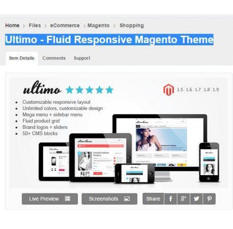 Ultimo - Fluid Responsive Magento Theme download, lifetime free ...