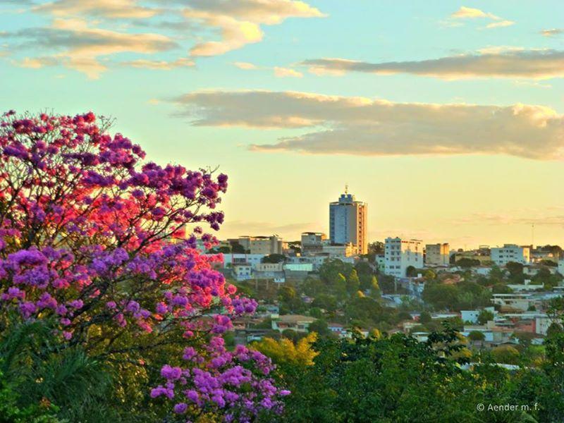 Vista de Arcos, MG  Fotografia de Aender Ferreira