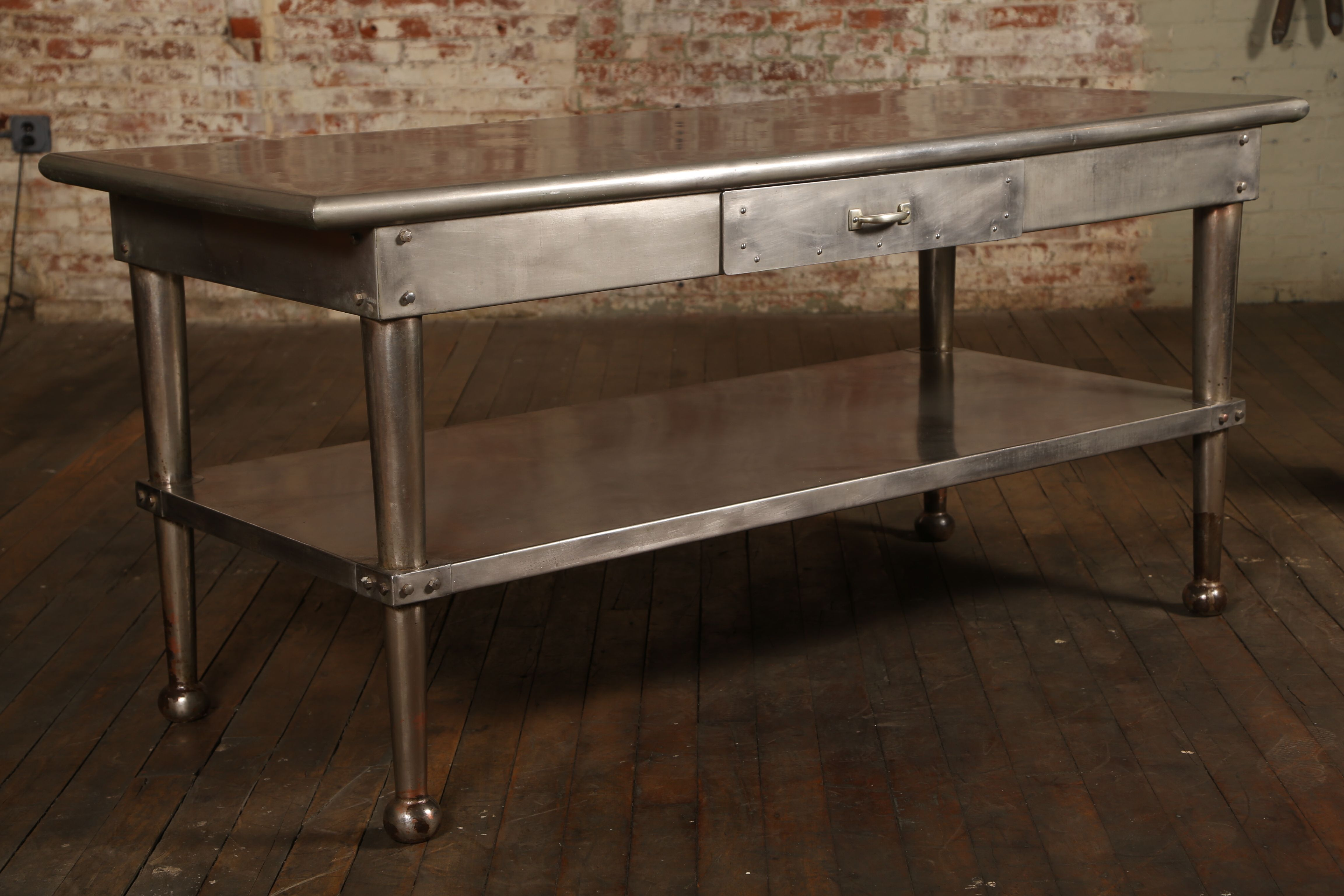 Industrial Kitchen Table Stainless Steel Stainless Steel Kitchen Table Industrial Style Kitchen Stainless Backsplash