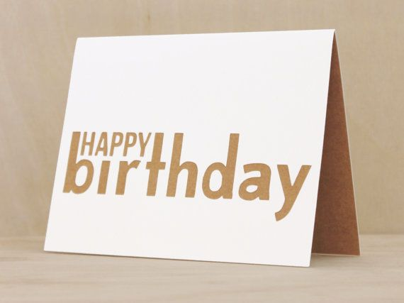 Homemade Birthday Cards For Best Friend ~ Happy birthday birthday card handmade birthday card for her