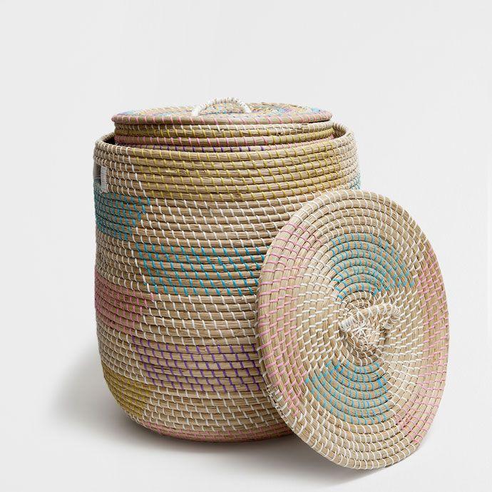 d1d00b988cb848 storage baskets zara home | Homespiration - Kids' room | Basket ...