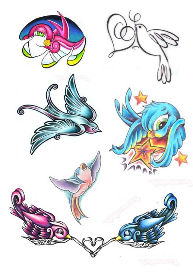 Bird Henna Tattoo: Bangkok Tattoo Studio: Tattoo, Henna Painting, Body