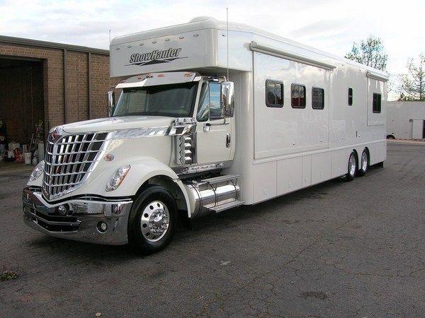 2010 Showhauler Lonestar For Sale Rv Truck Big Trucks Recreational Vehicles