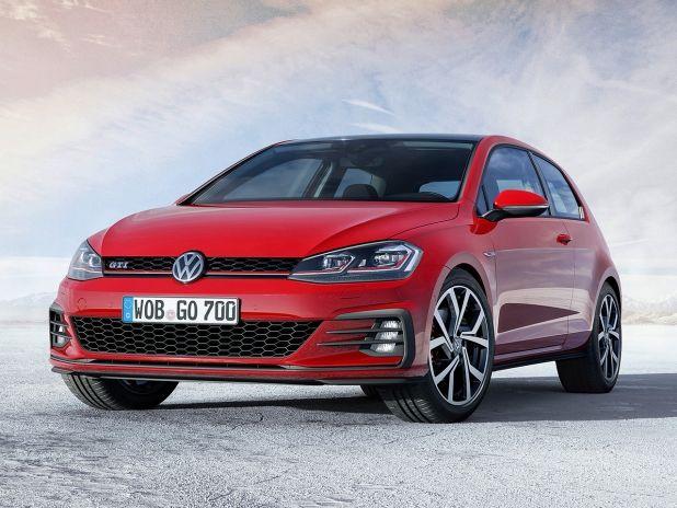 Vw Golf 7 Gti Facelift 2017 Preis Motor Autozeitung De Volkswagen Polo Volkswagen Golf Auto Neuheiten