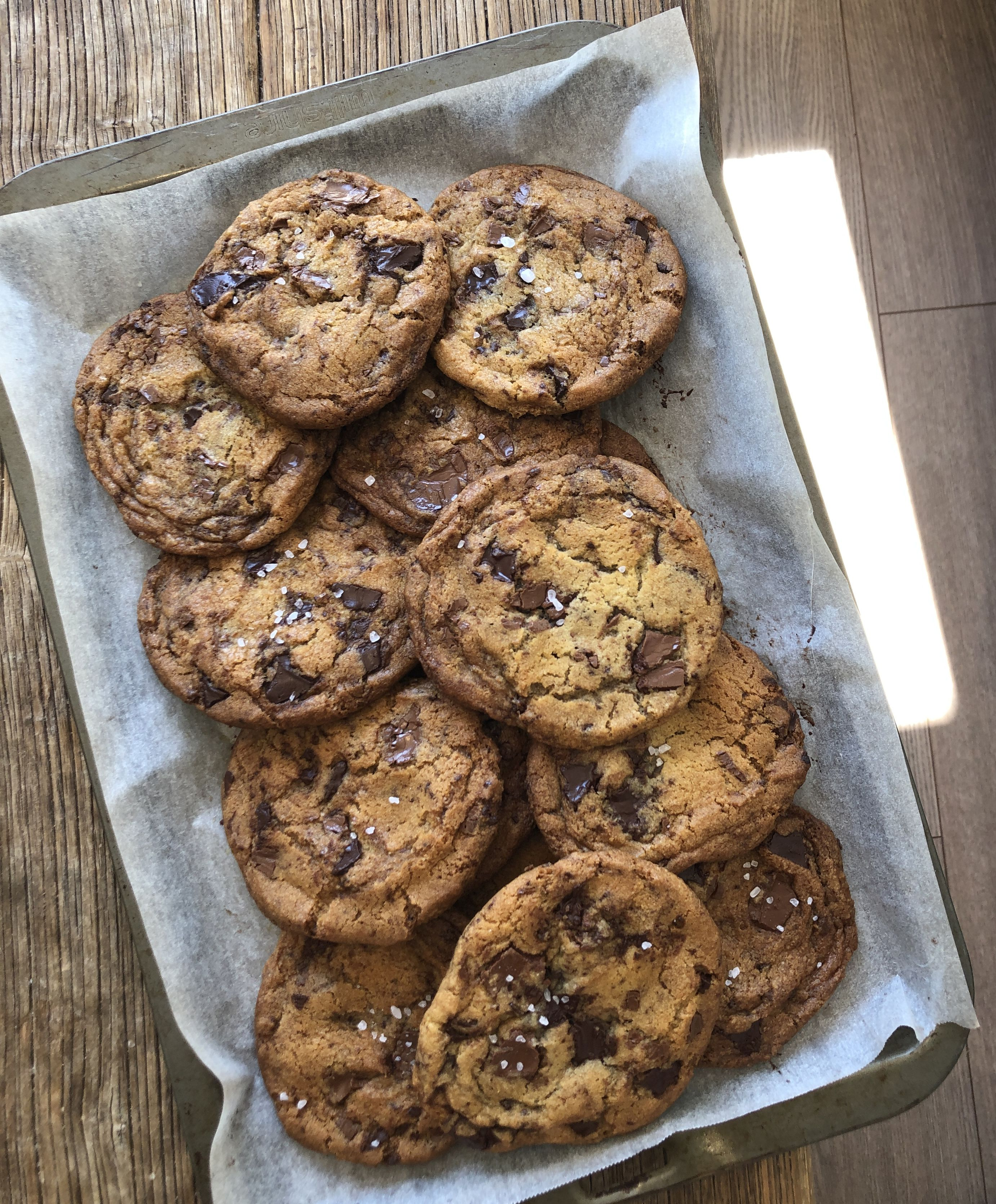 The Best Chocolate Chip Cookies Buttermilk In 2020 Chocolate Chip Cookies Chocolate Cookie Recipes Best Chocolate Chip Cookie