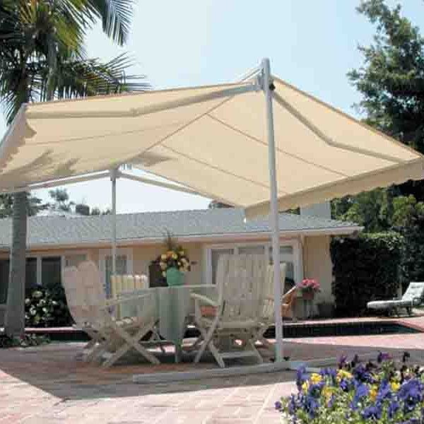 Create A Relaxing Outdoor Lounge Area With Our Double Sided Retractable Awning Call Us At 8584014147 To Know More Awni Patio Pergola Ideas For Patio Pergola