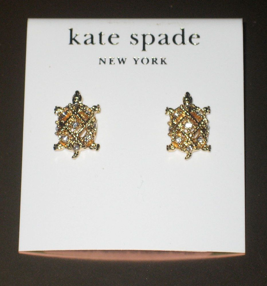 johnson earrings turtle pin pinterest tone gold stud betsey products