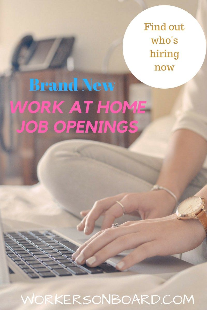Today, I have researched the latest work at home job