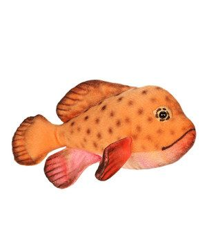 Tropical Fish Plush Toy by Hansa Toys #zulily #zulilyfinds