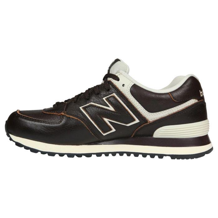 Ml574lua New Balance 574 Leather Herren Sneaker Braun Mit Bildern Sneaker Herren Turnschuhe Sneaker