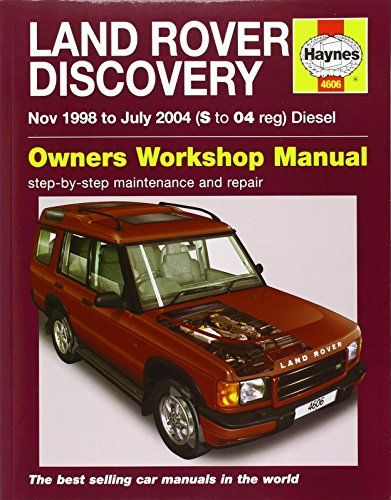 Land Rover Discovery Service And Repair Manual Haynes Service And Repair Manuals Compras Mecanica